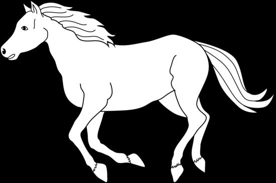 Horse Cliparts-Horse cliparts-16