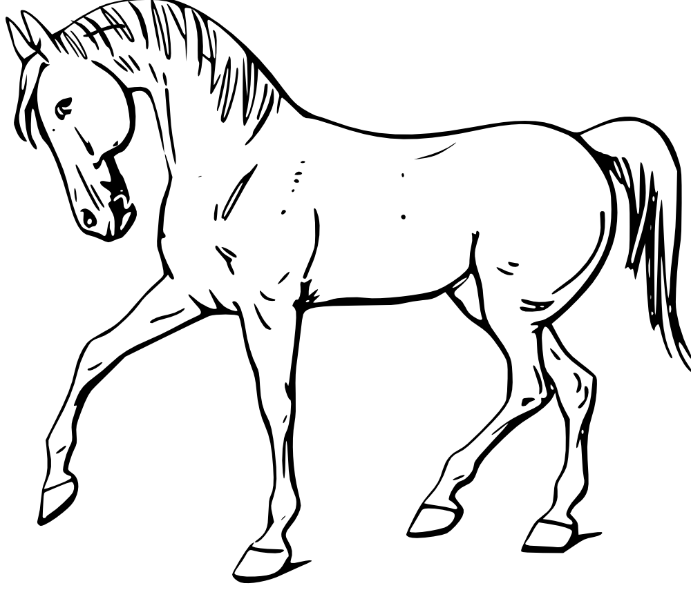 Horse free to use clipart clipartall