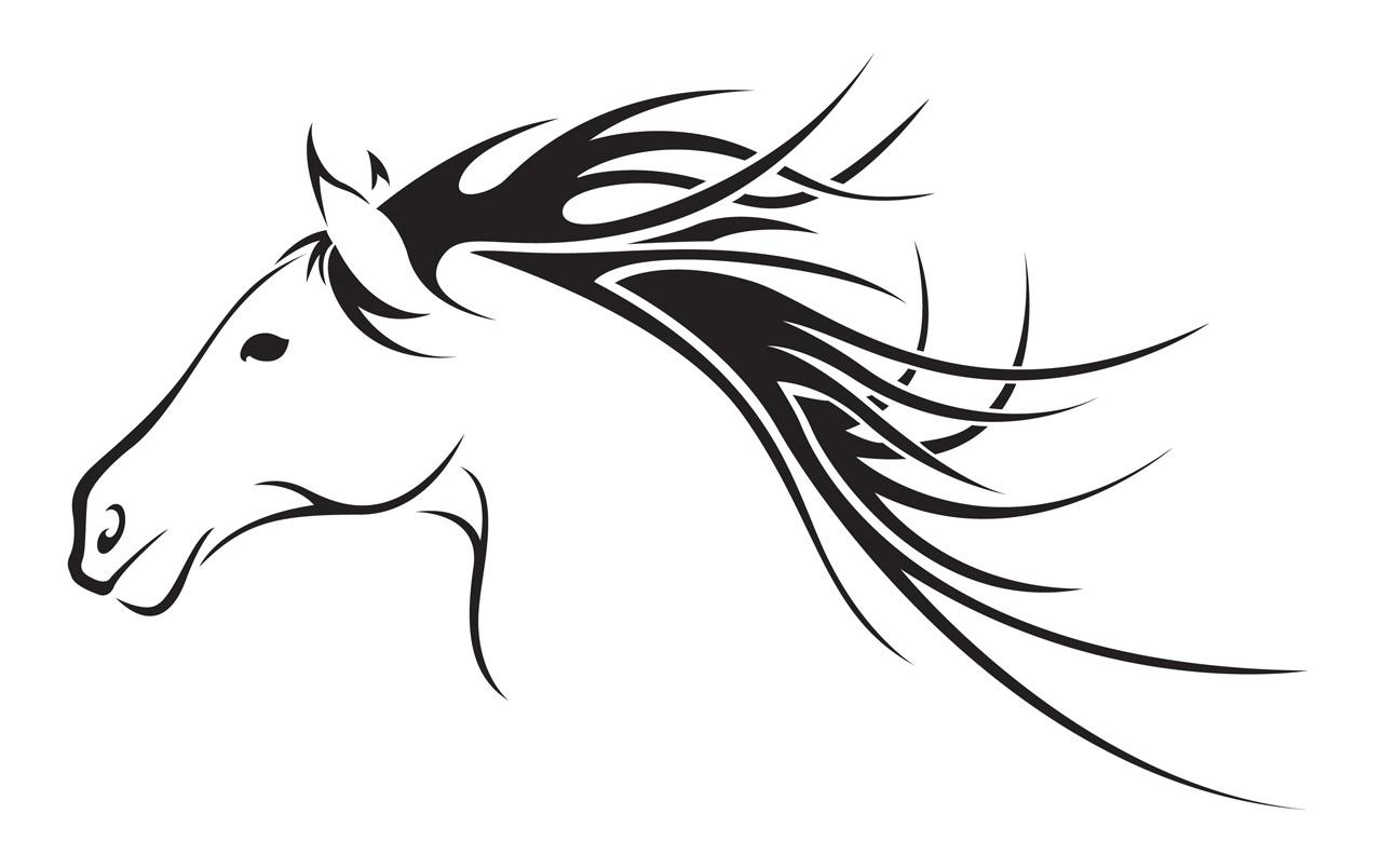 Horse Head Clip Art - Image # .