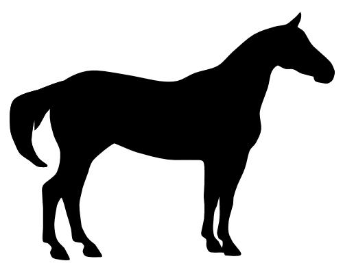 Horse Head Silhouette Clip Art Clipart Best