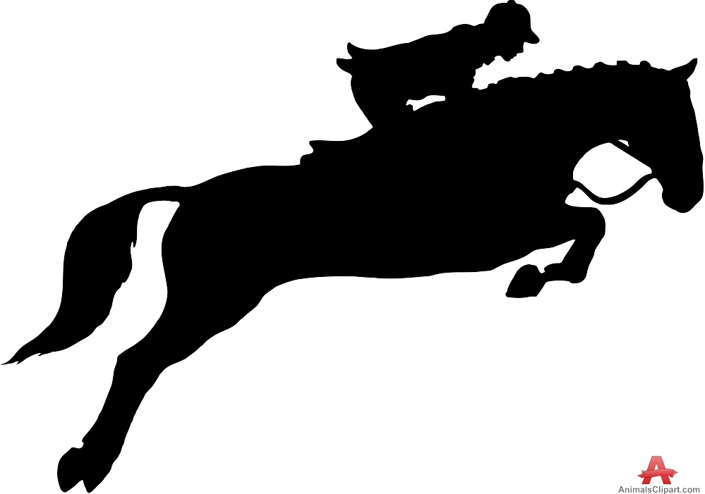 horse jumping clip art Gallery
