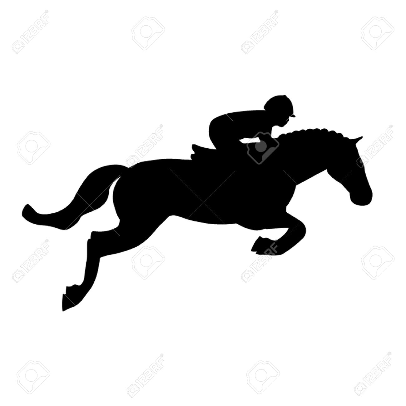 horse jumping: Horse Jump