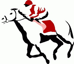 ... Horse Racing Clipart ...