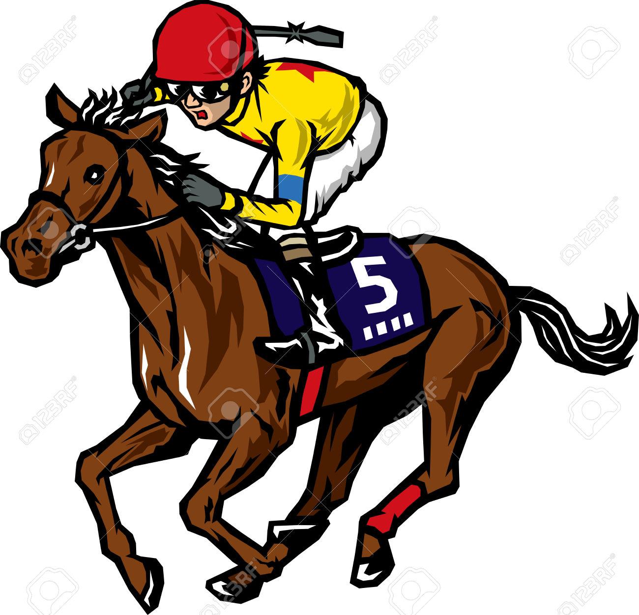 horse racing gallop race: .