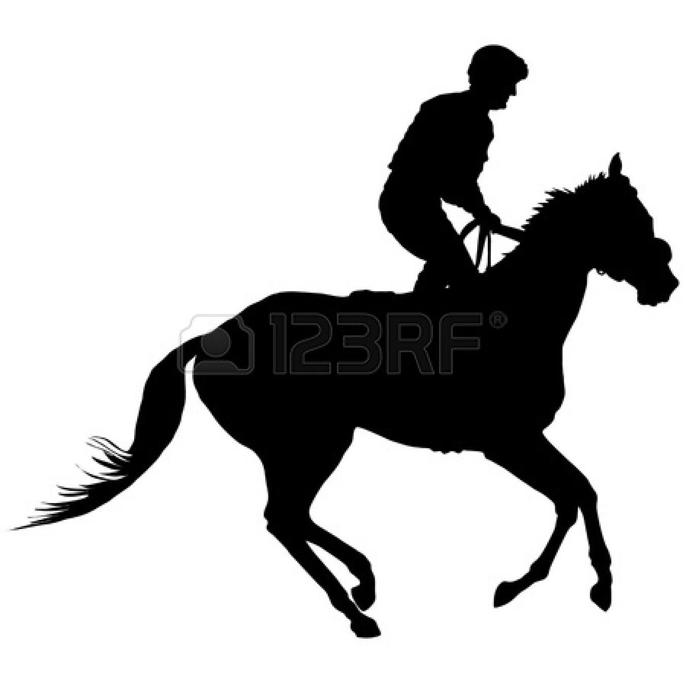 Horse racing gallop race .