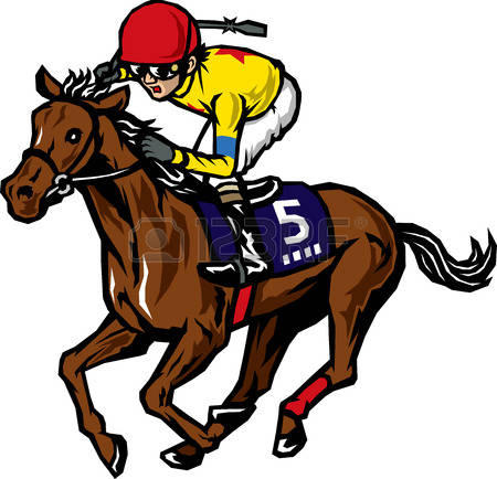 78 Race Horse Clip Art