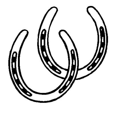 Horse Shoe Clip Art - Horse Shoe Clipart