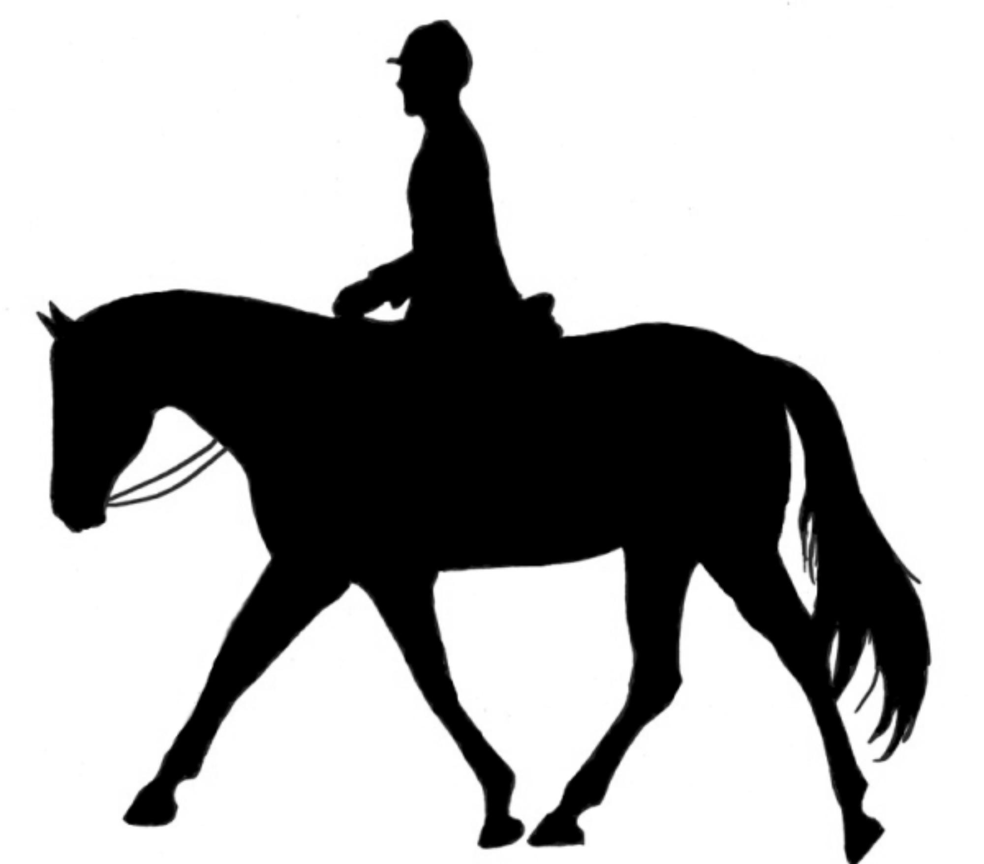 Horseback cliparts