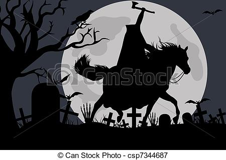 Horseman Clipartby mkoudis5/132; Illustration Of A Headless Horseman - Illustration of a.