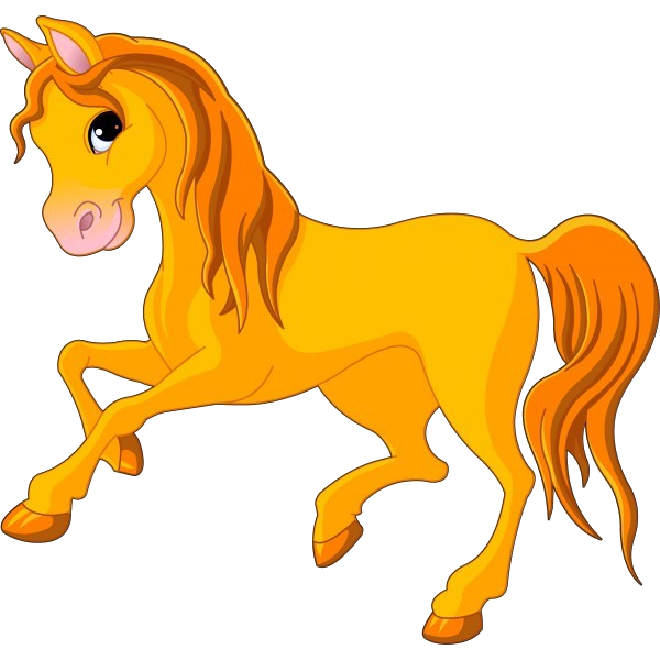 Horses cartoon animal images clip art