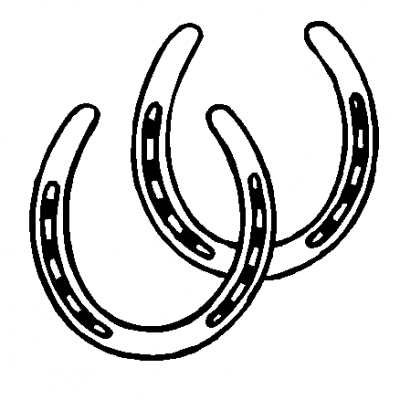 horseshoe game clipart