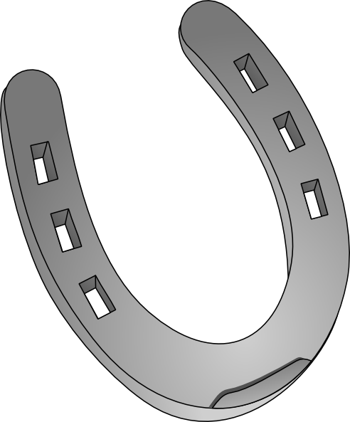 horseshoe clipart - Clipart Horseshoe