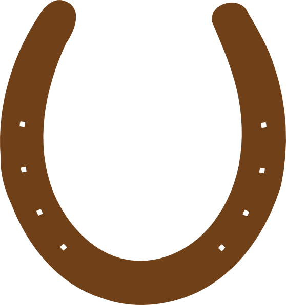 ... Horseshoe Template Clipart ...