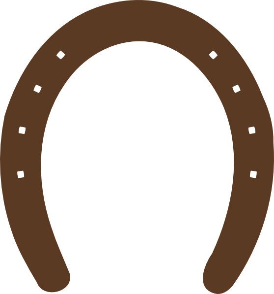 Horseshoe Template Printable Clipart Best