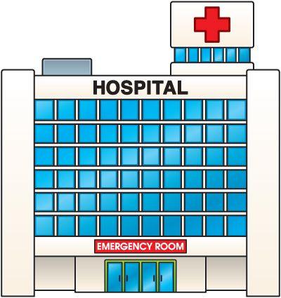 hospital clipart