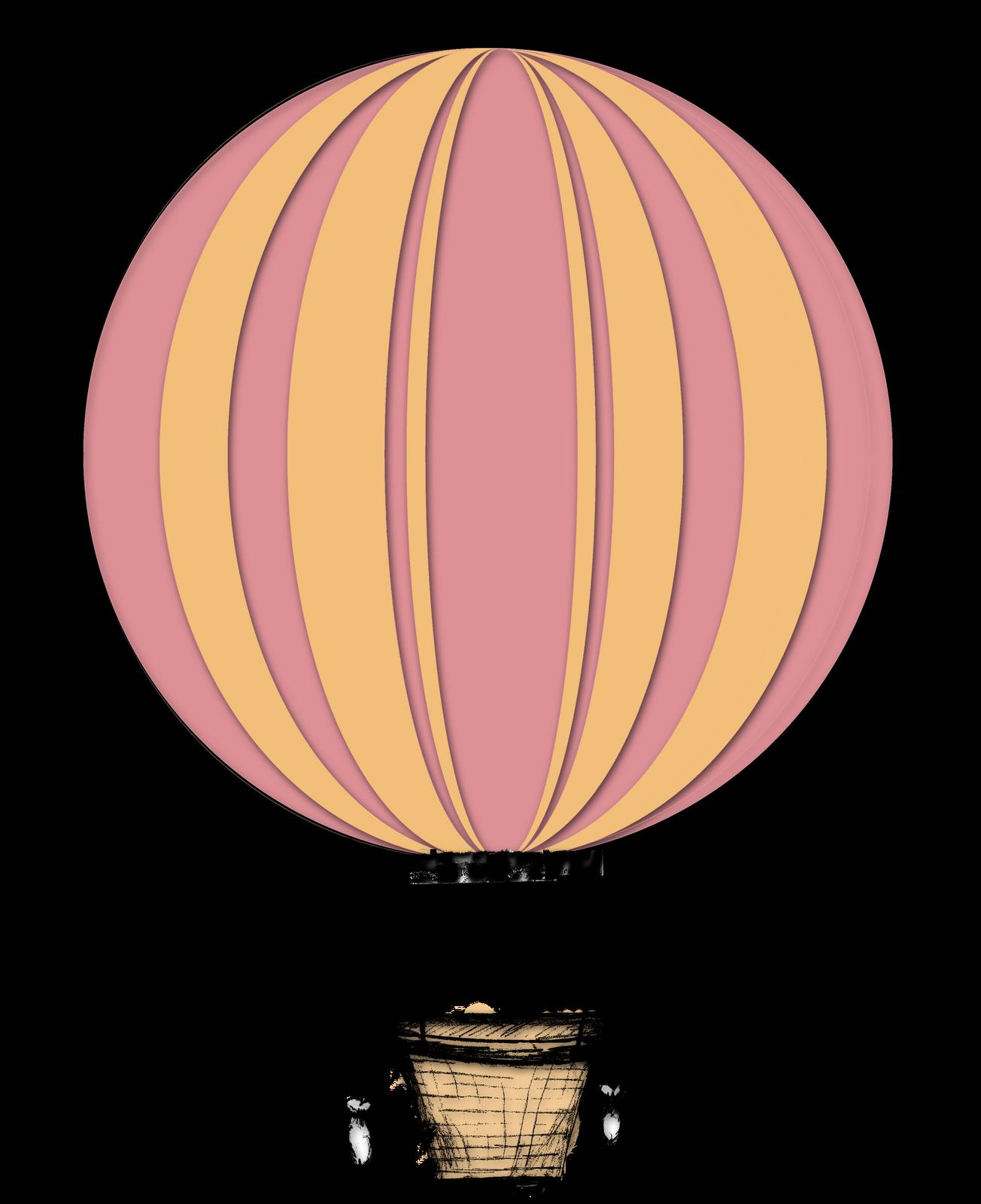 Hot Air Balloon Clip Art #1308-Hot Air Balloon Clip Art #1308-5