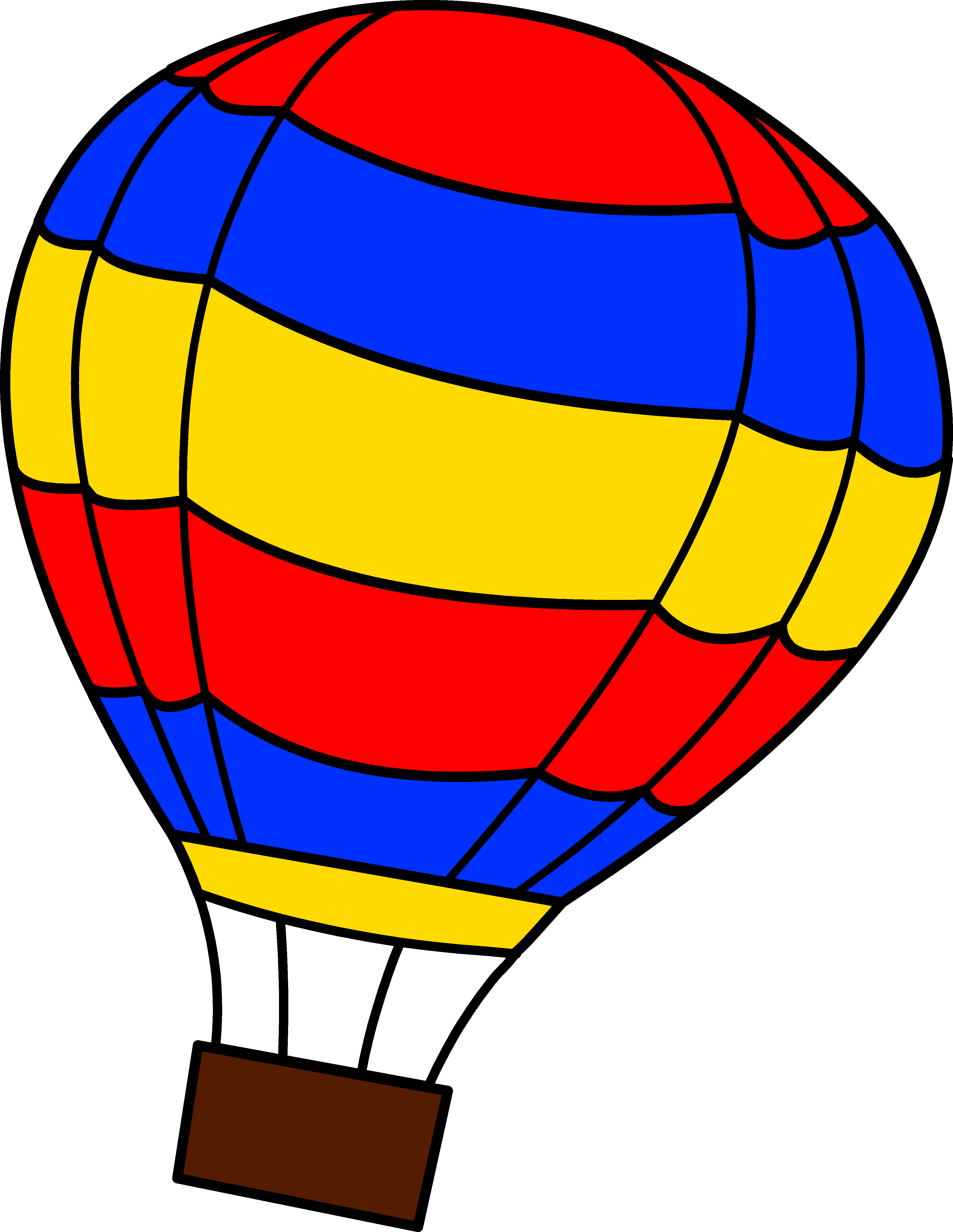 Hot Air Balloon Clip Art-Hot Air Balloon Clip Art-8