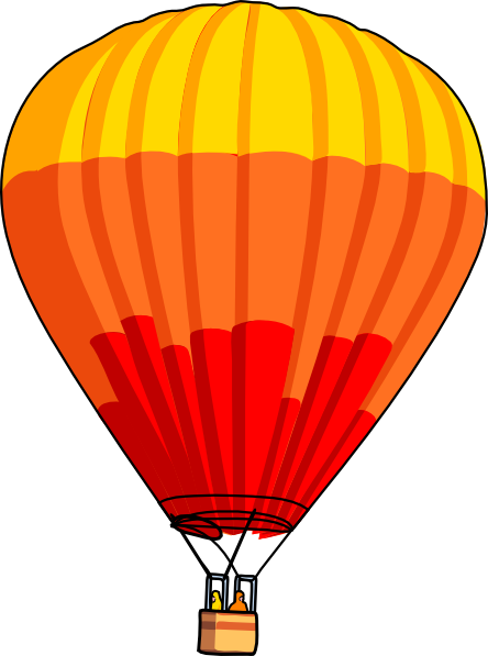 Hot Air Balloon Clipart Image