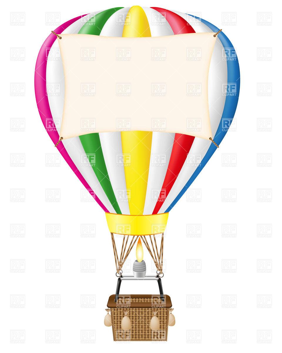 ... Colorful hot air balloon