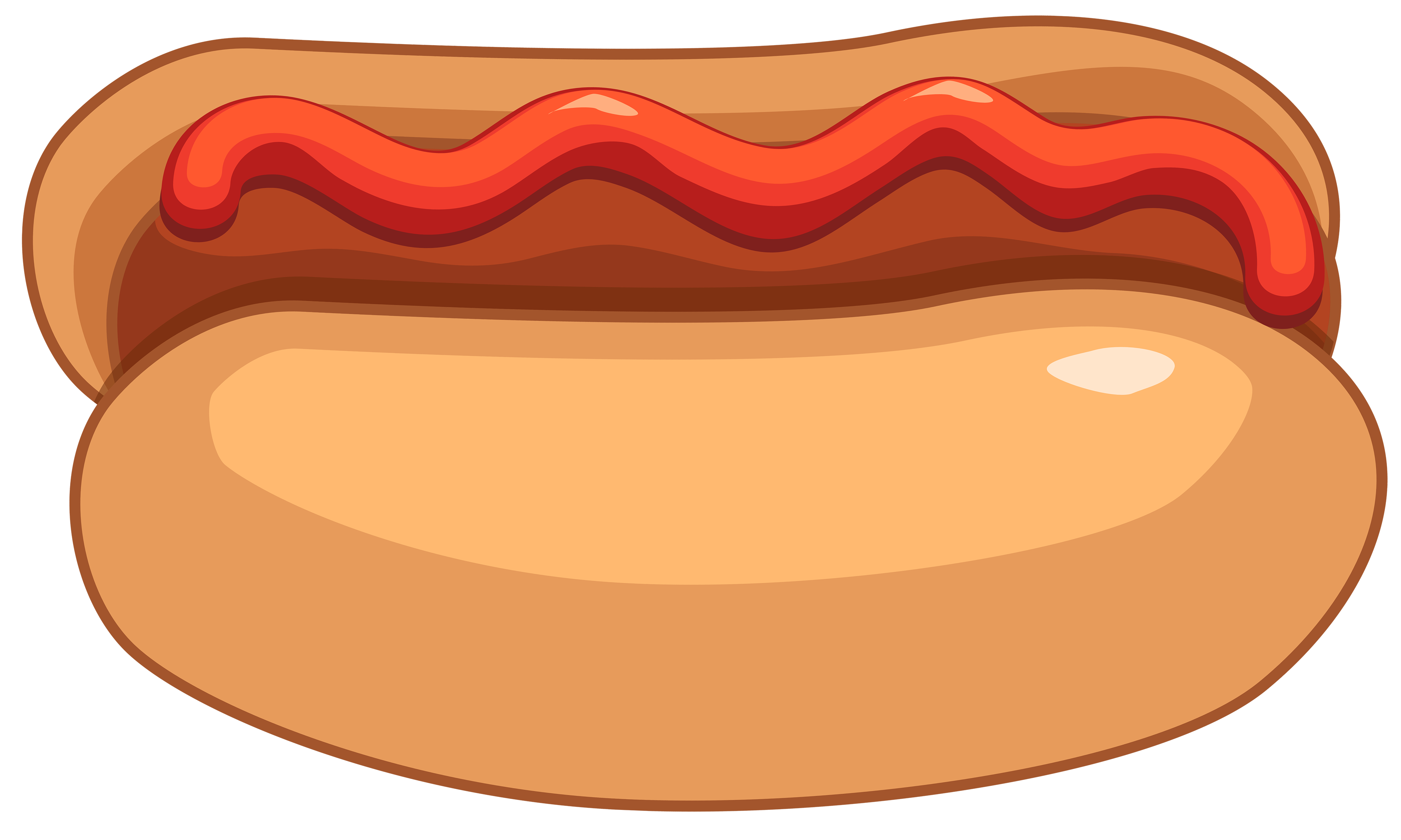 Hot Dog And Ketchup Clipart .-Hot dog and ketchup clipart .-6