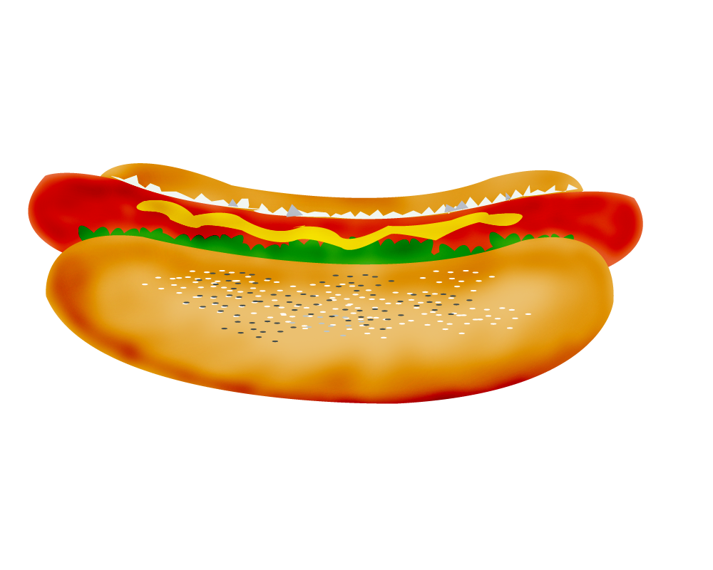 Hot Dog Clip Art-Hot Dog Clip Art-7