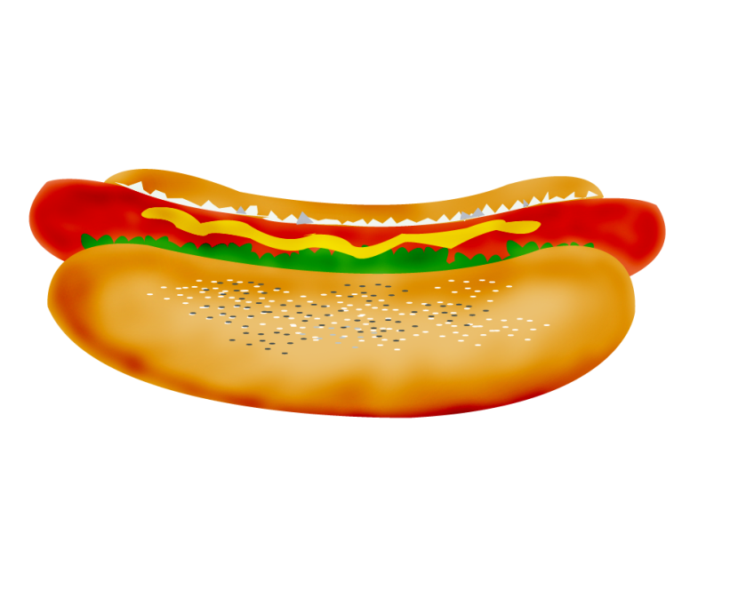 Hot Dog Clipart Free Clip Art - Hot Dog Clipart Free