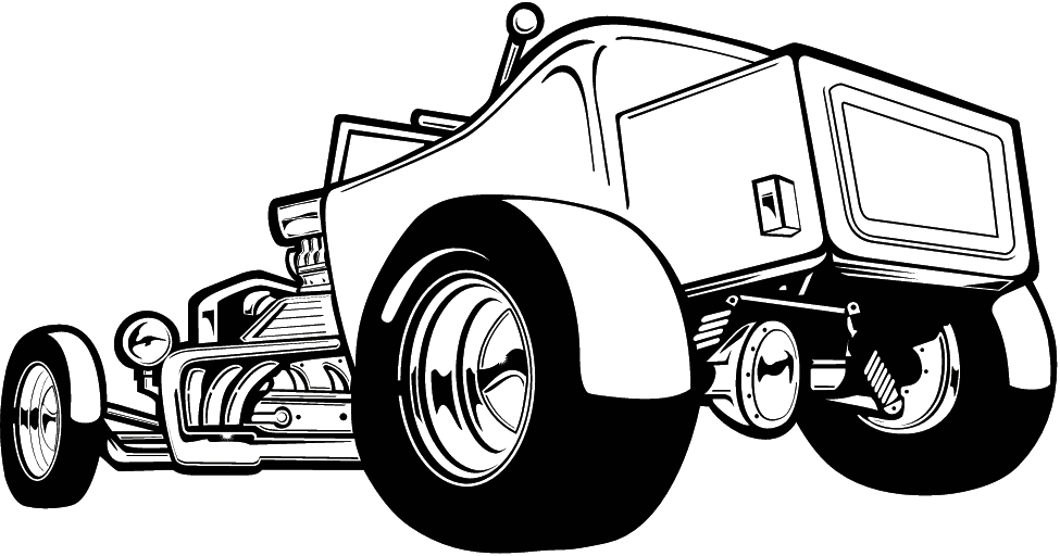 Hot Rod Clip Art Black and White | The Best Free Library (Clipart, Wallpapers, Fonts, Icons) | automotive /ratrod/ hot rod tatts | Pinterest | Cars, ...