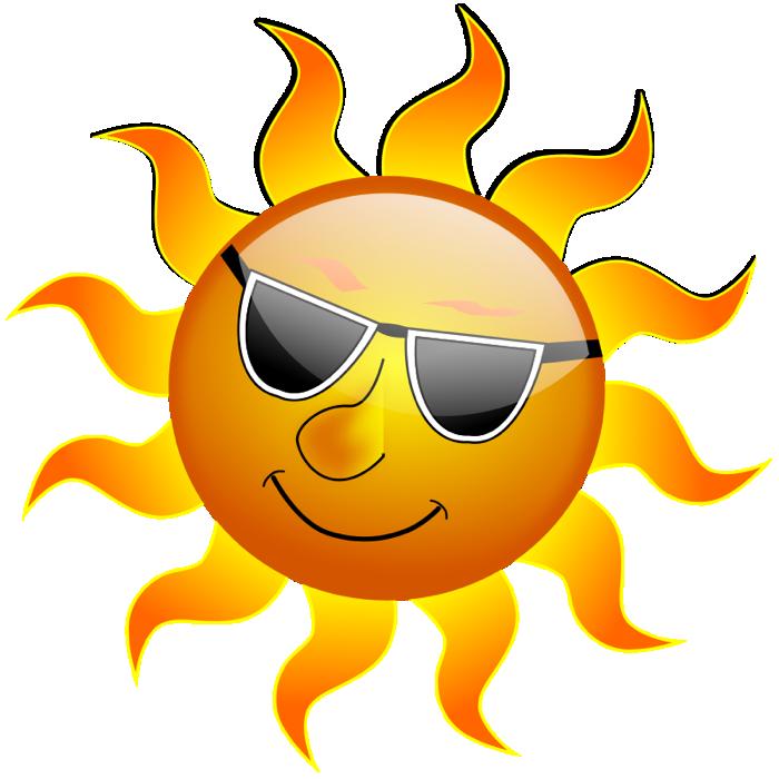 Hot Sun Clip Art. Sun Wearing Sunglasses-Hot Sun Clip Art. Sun Wearing Sunglasses-7
