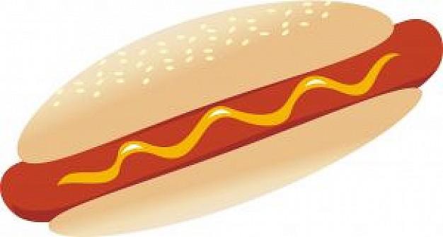 hotdog clipart