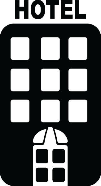 Hotel - Clip Art (4479)