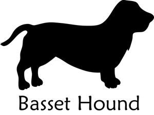 Hound Clipart Image: A ..
