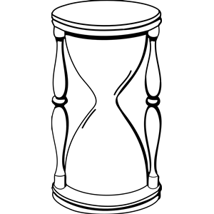 Hourglass Outline Clip Art ..-Hourglass Outline Clip Art ..-12