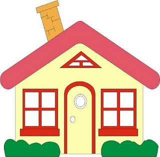 house clipart - Clip Art Of House