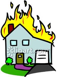House Fire Clipart-house fire clipart-5