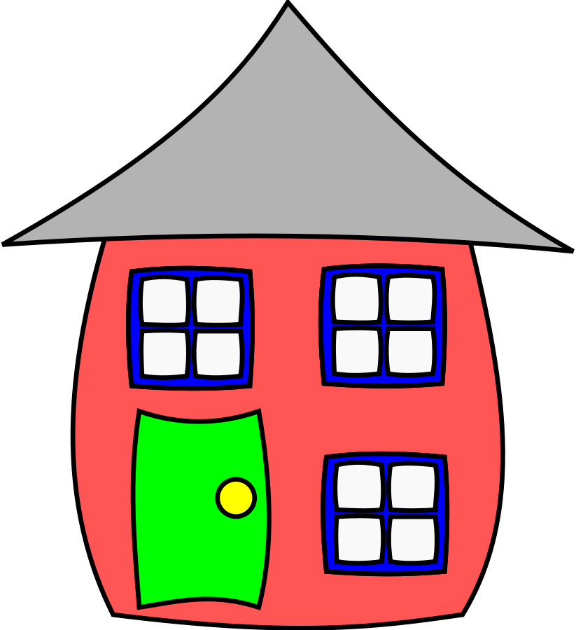 House Cartoon 001 Clipart-House cartoon 001 Clipart-16