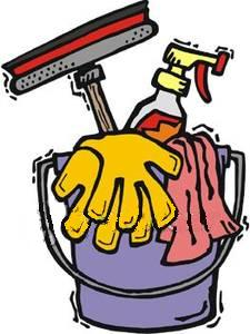 House cleaning clip art .