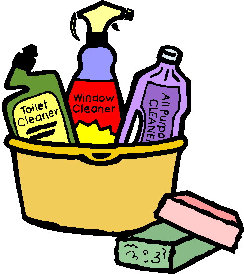 House Cleaning: Free House Cleaning Supplies Clip Art