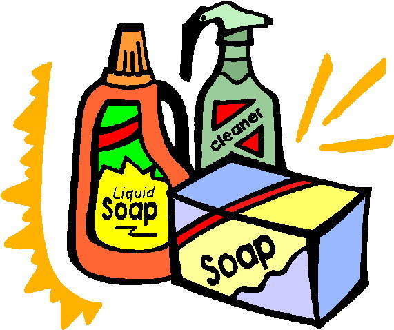 House Cleaning Supplies Clip Art