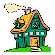 House Clipart - Clip Art Of House