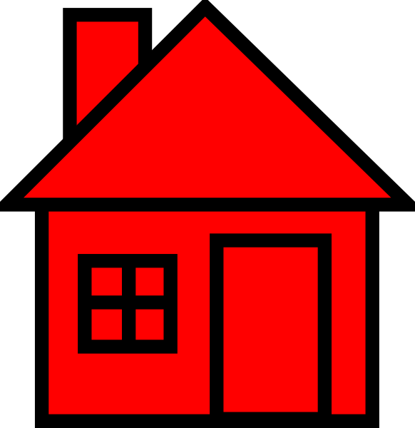 Red-black House Clipart Clip Art at Clke-Red-black House Clipart Clip Art at Clker clipartlook.com - vector clip art online,  royalty free u0026 public domain-13