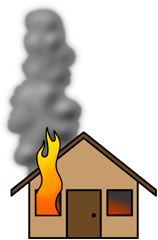 House Fire Clipart Clipart .