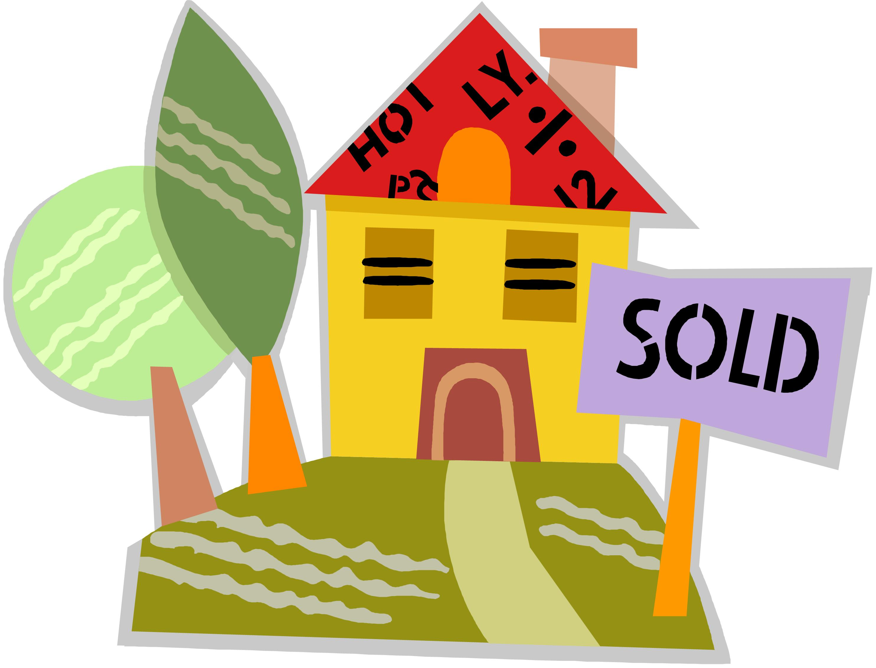 House For Sale Clip Art #23305