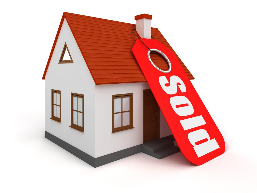 House For Sale Clipart. House Sold Clipart