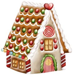 House Png Clipart More Christmas Clipart Christmas Gingerbread House