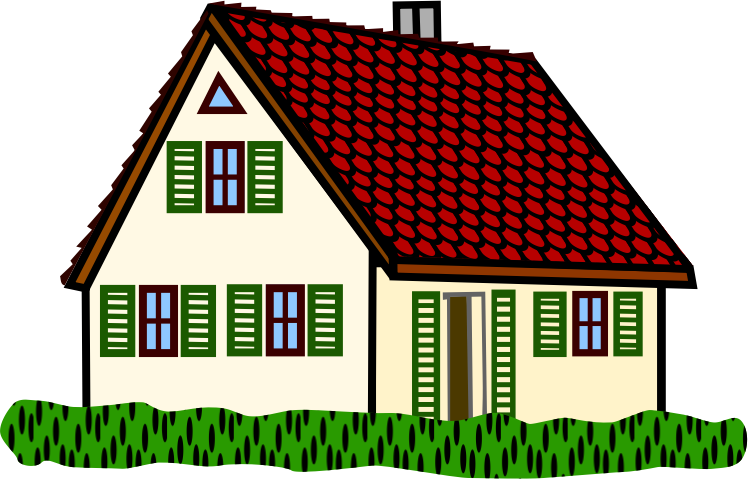 Houses clip art 3 clipartcow - Clip Art Of House