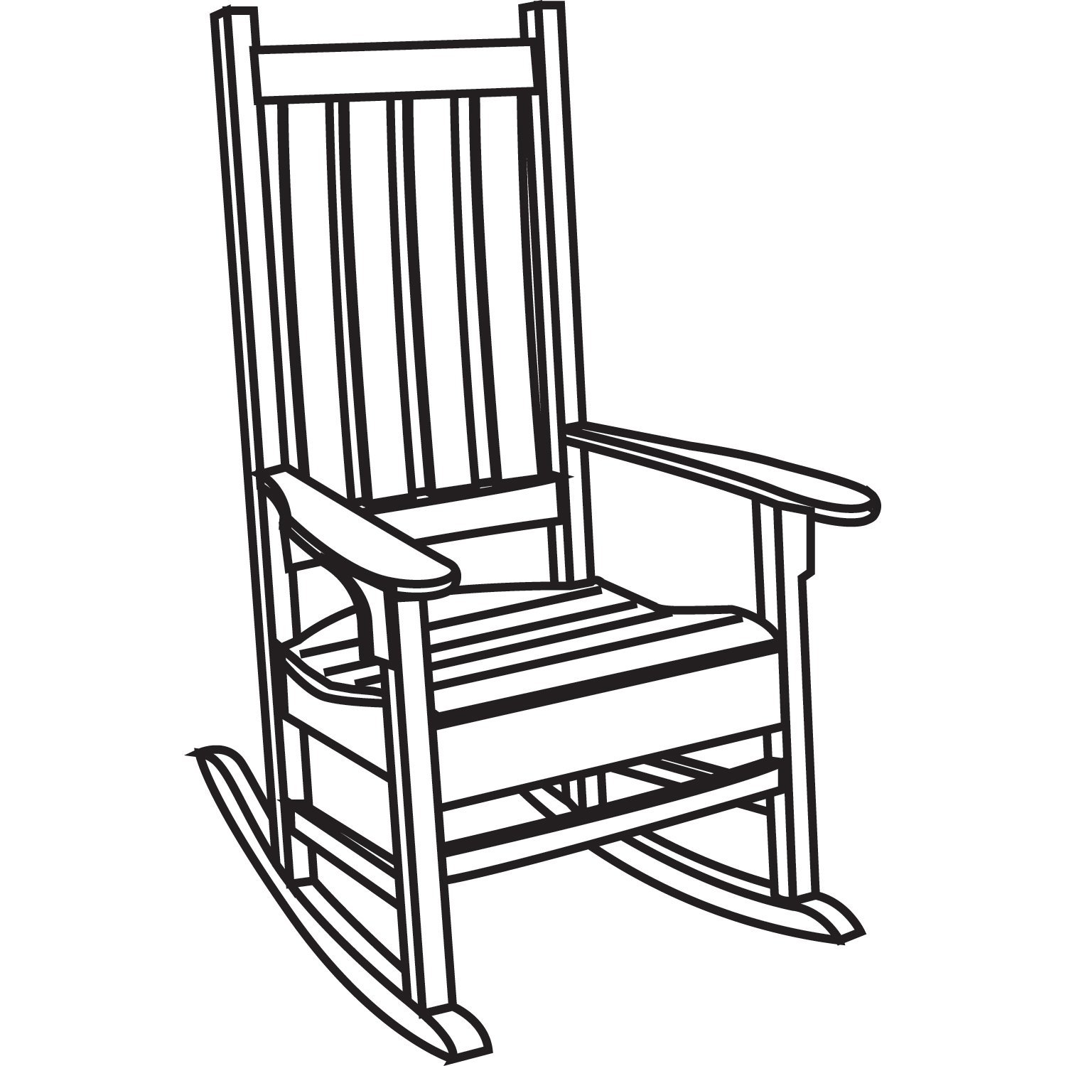 How To Draw A Rocking Chair-How To Draw A Rocking Chair-8