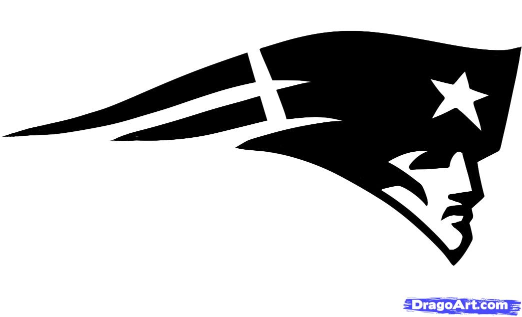 How To Draw The Patriots Logo New Englan-How To Draw The Patriots Logo New England Patriots Step Image-0