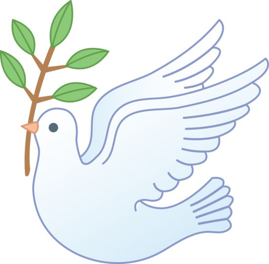 How to Rely Upon the Holy Spi - Clip Art Dove