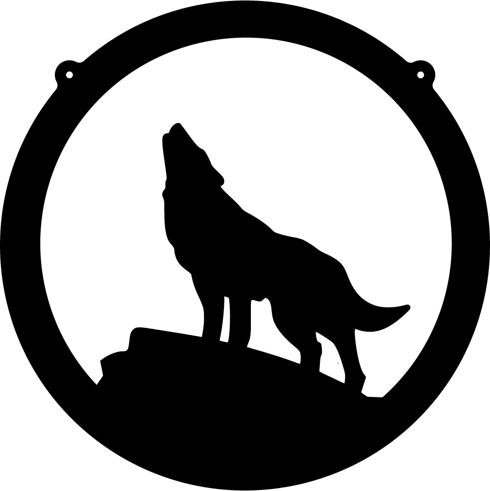 Howling Wolf Free Cliparts That You Can Download To You Computer