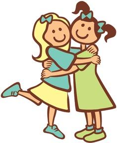hug clipart - Hugs Clip Art